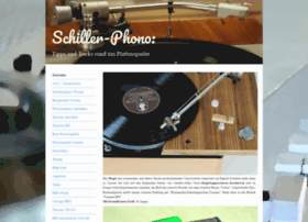 Schiller-phono.de thumbnail