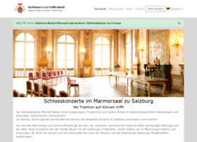 Schlosskonzerte-salzburg.at thumbnail