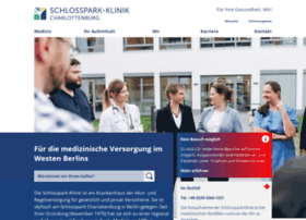Schlosspark-klinik.de thumbnail
