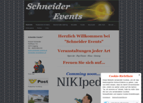 Schneider-events.at thumbnail