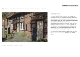 Scholz-architekten.de thumbnail