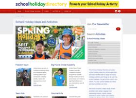 Schoolholidaydirectory.com.au thumbnail