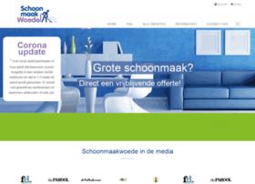 Schoonmaakwoede.nl thumbnail