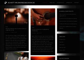 Schott-musikpaedagogik.de thumbnail