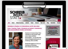 Schreibwerkstatt.co.at thumbnail