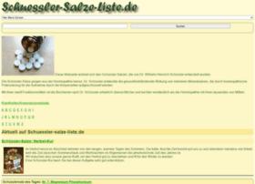 Schuessler-salze-liste.de thumbnail
