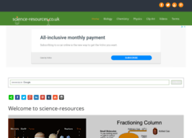Science-resources.co.uk thumbnail