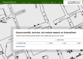 Sciencedirect.com thumbnail