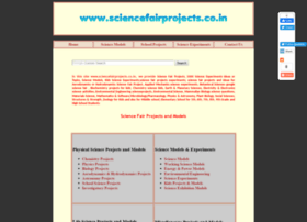 Sciencefairprojects.co.in thumbnail