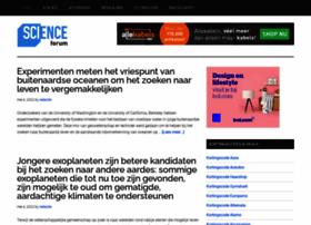 Scienceforum.nl thumbnail