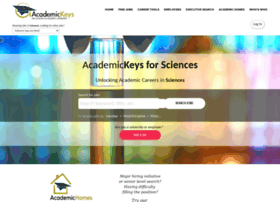 Sciences.academickeys.com thumbnail