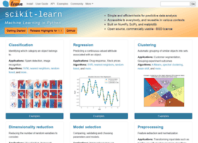 Scikit-learn.org thumbnail