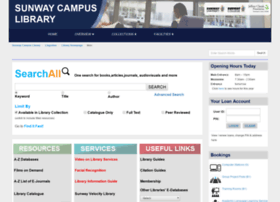 Sclibrary.sunway.edu.my thumbnail