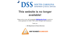 Scmapp.sc.gov thumbnail