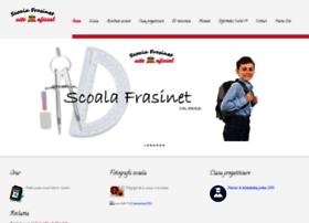 Scoalafrasinet.ro thumbnail