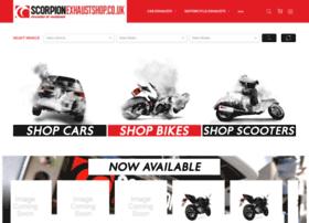 Scorpionexhaustshop.co.uk thumbnail