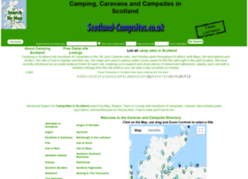 Scotland-campsites.co.uk thumbnail