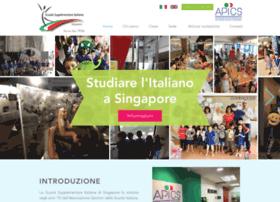 Scuolaitaliana.sg thumbnail