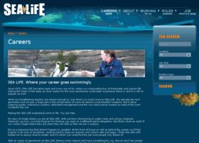Sealife-jobs.co.uk thumbnail
