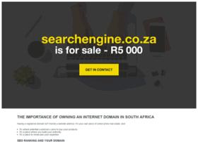 Searchengine.co.za thumbnail