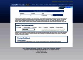 Searchsystems.net thumbnail