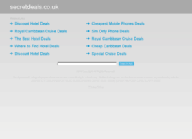 Secretdeals.co.uk thumbnail