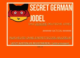 Secretgermanjodel.net thumbnail