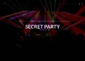 Secretparty.io thumbnail