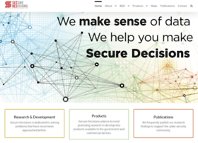 Securedecisions.com thumbnail