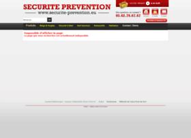 Securite-prevention.eu thumbnail