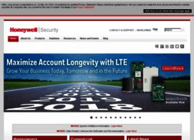 Security.honeywell.com thumbnail