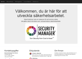 Securitymanager.se thumbnail