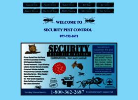 Securitypest.com thumbnail