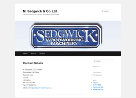 Sedgwick-machinery.co.uk thumbnail