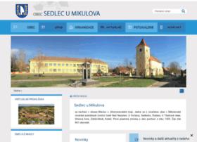 Sedlecumikulova.cz thumbnail