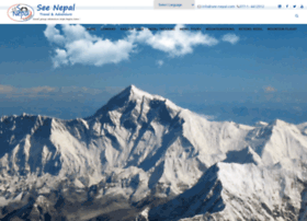 See-nepal.com thumbnail