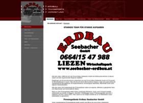 Seebacher-erdbau.at thumbnail