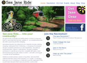 Seejaneridebicycletours.com thumbnail