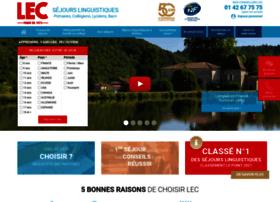 Sejour-linguistique-lec.fr thumbnail
