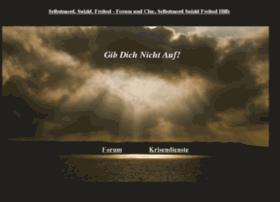 Selbstmord-forum.at thumbnail