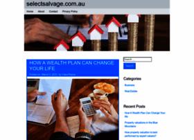 Selectsalvage.com.au thumbnail