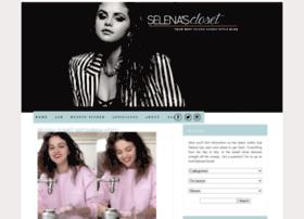 Selenascloset.com thumbnail