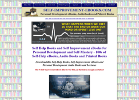 Self-improvement-ebooks.com thumbnail