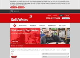 Sell2wales.gov.uk thumbnail