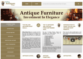 Sellingantiquesshop.co.uk thumbnail