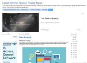 Seminarprojecttopics.blogspot.com thumbnail