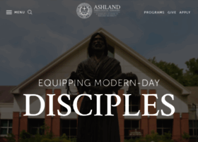 Seminary.ashland.edu thumbnail