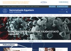 Semmelweis-egyetem.hu thumbnail
