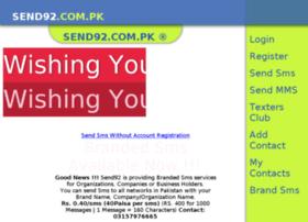 Send92.com.pk thumbnail
