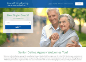 Www.senior dating agency